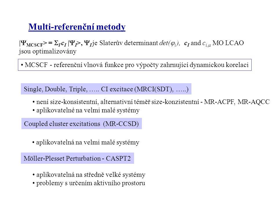 Multi-referenční metody