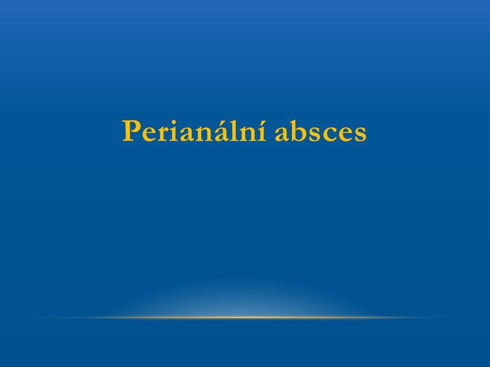 Perianální absces