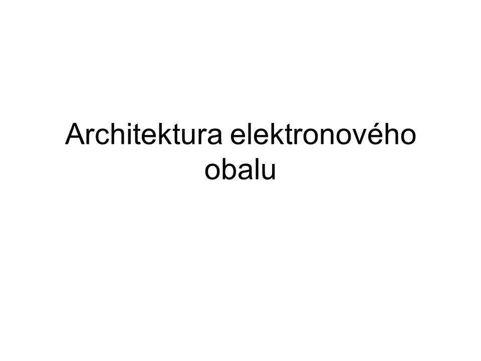Architektura elektronového obalu
