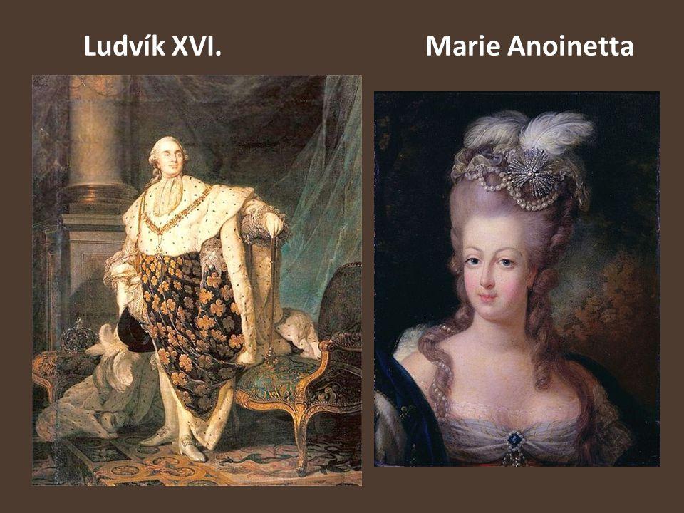 Ludvík XVI. Marie Anoinetta