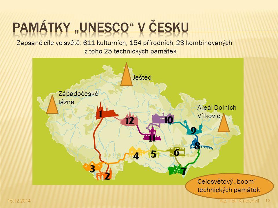 """Památky """"UNESCO v Česku"""