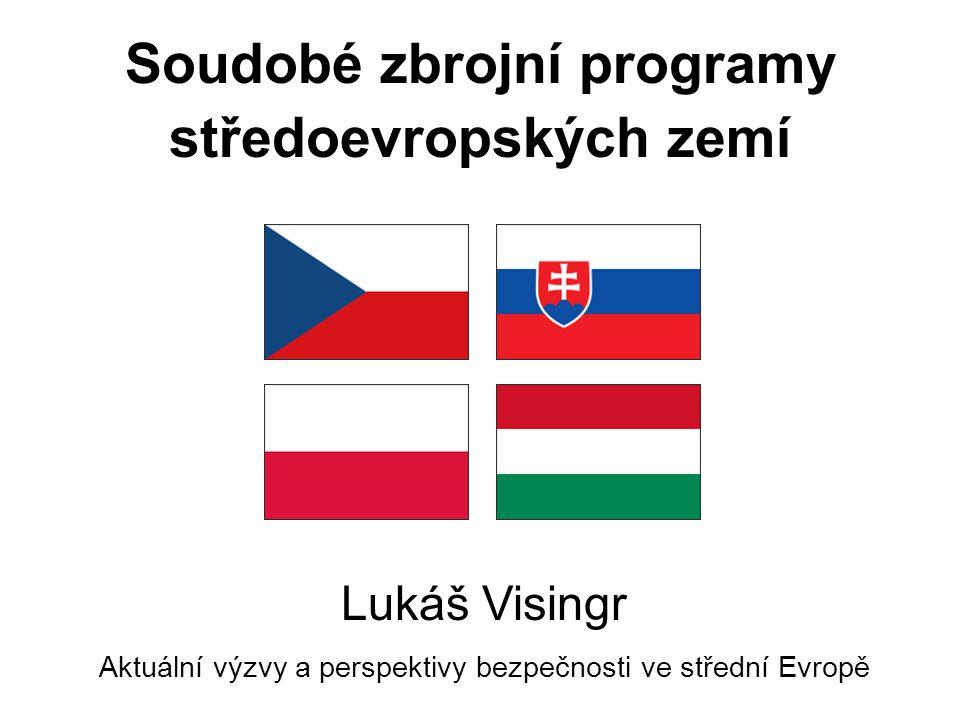 Soudobé zbrojní programy středoevropských zemí