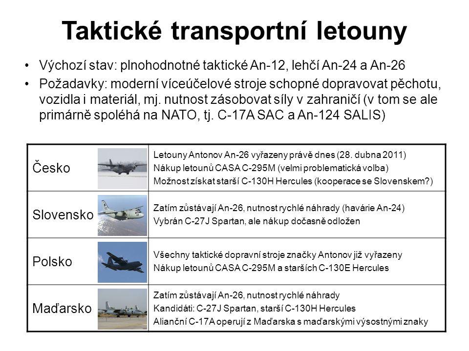Taktické transportní letouny