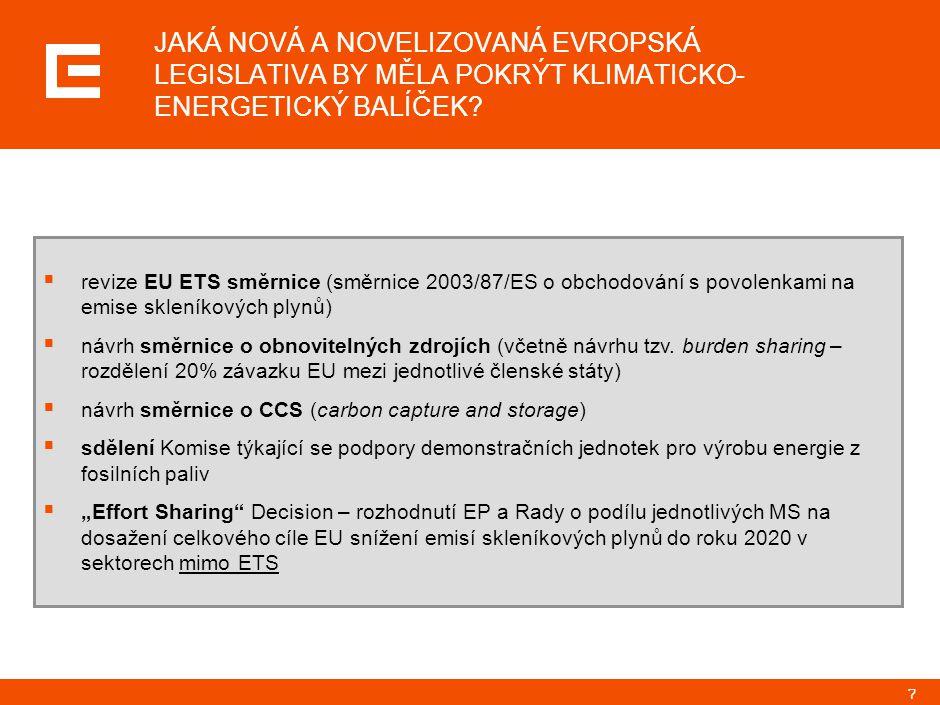 25 ZPŮSOB REGULACE CO2 MÁ VÝRAZNÝ DOPAD DO TVORBY CENY ELEKTRICKÉ ENERGIE, VĚTŠÍ DOPAD NEŽ VÝVOJ CEN PALIV …