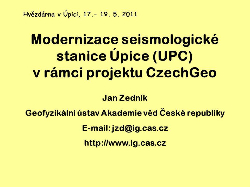 Geofyzikální ústav Akademie věd České republiky