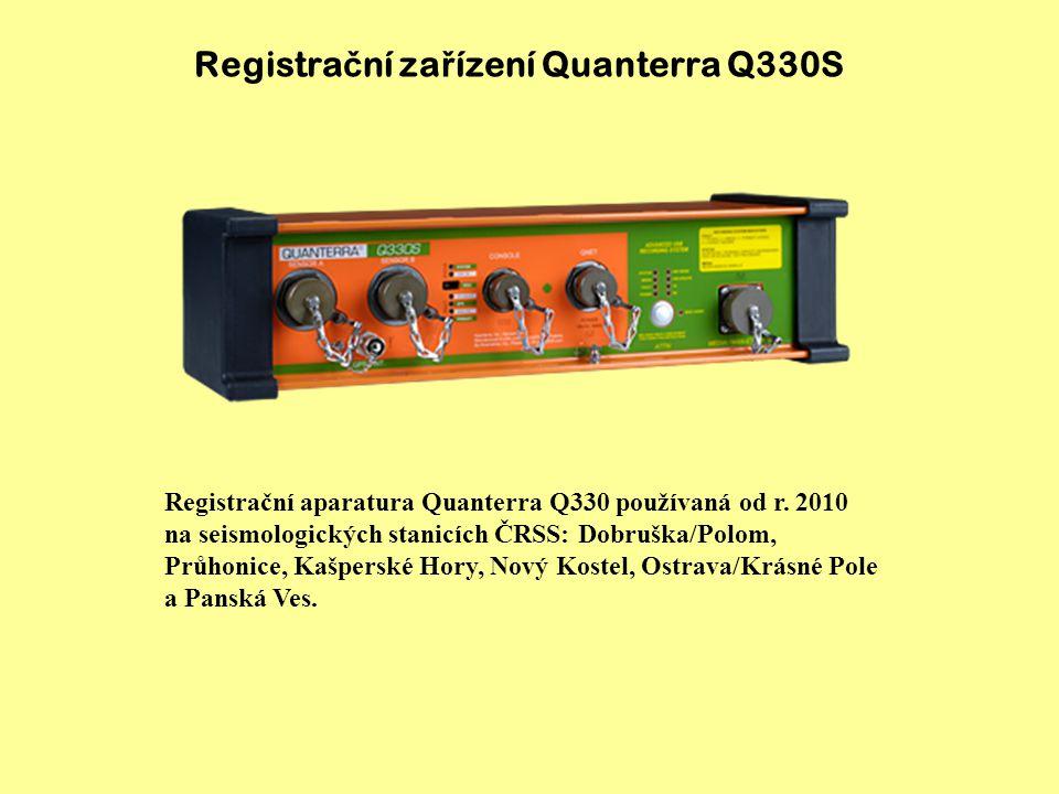 Registrační zařízení Quanterra Q330S