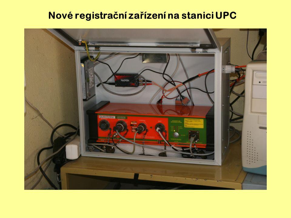 Nové registrační zařízení na stanici UPC