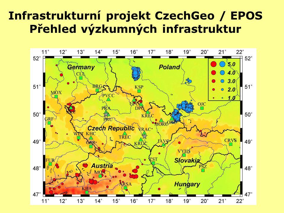 Infrastrukturní projekt CzechGeo / EPOS