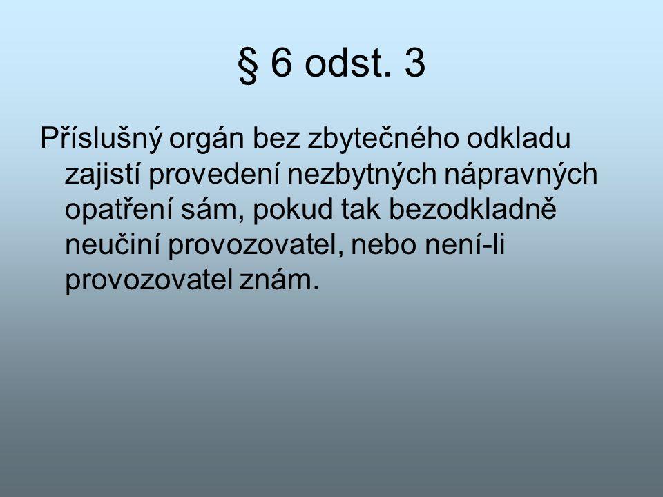 § 6 odst. 3