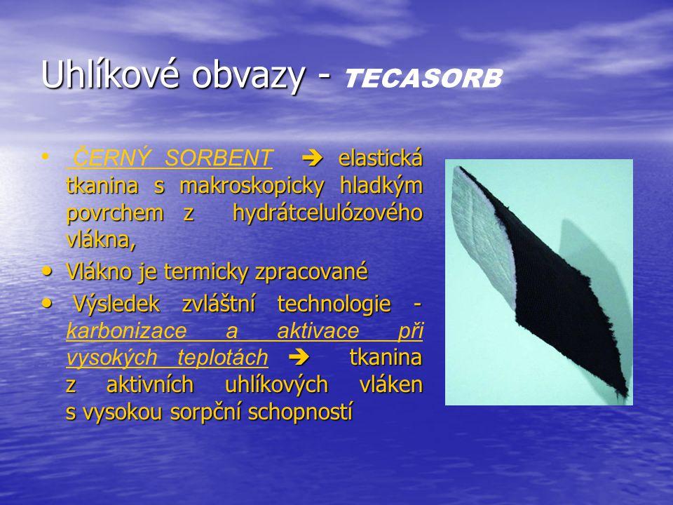 Uhlíkové obvazy - TECASORB