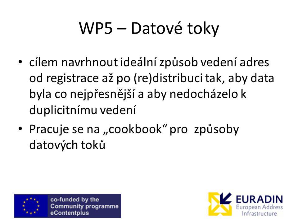 WP5 – Datové toky