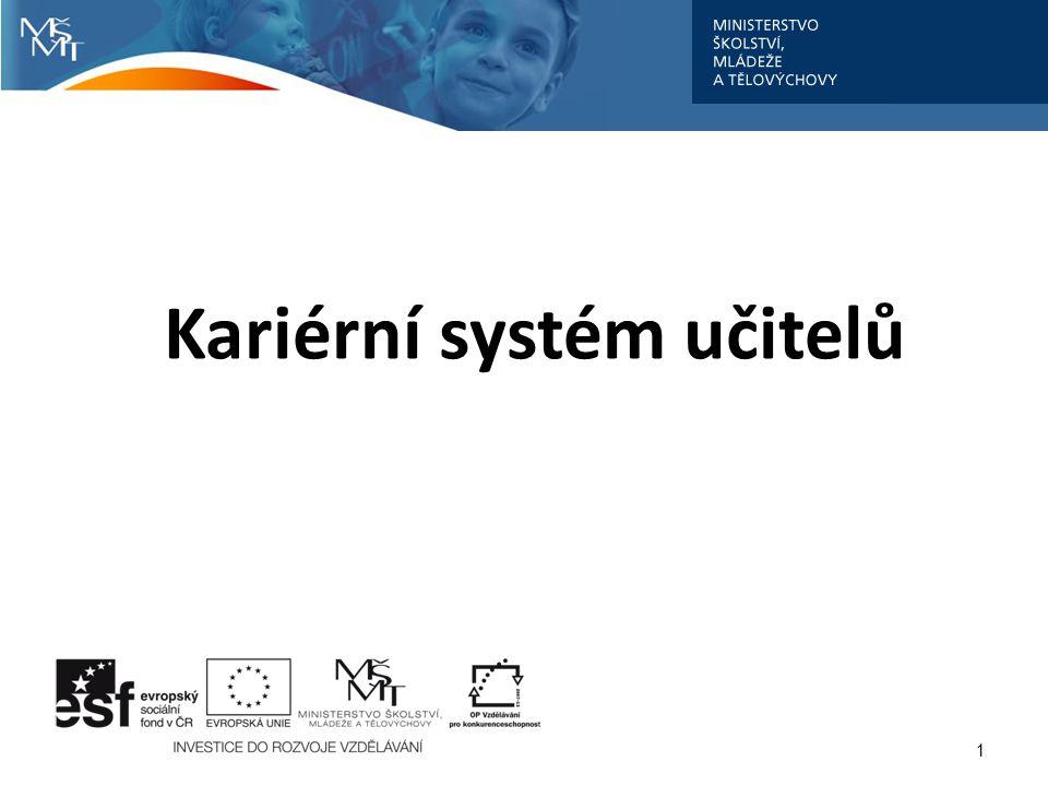 Kariérní systém učitelů