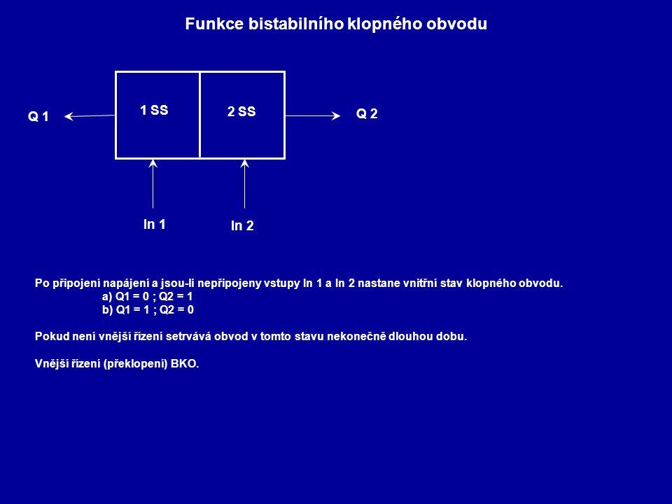 Funkce bistabilního klopného obvodu