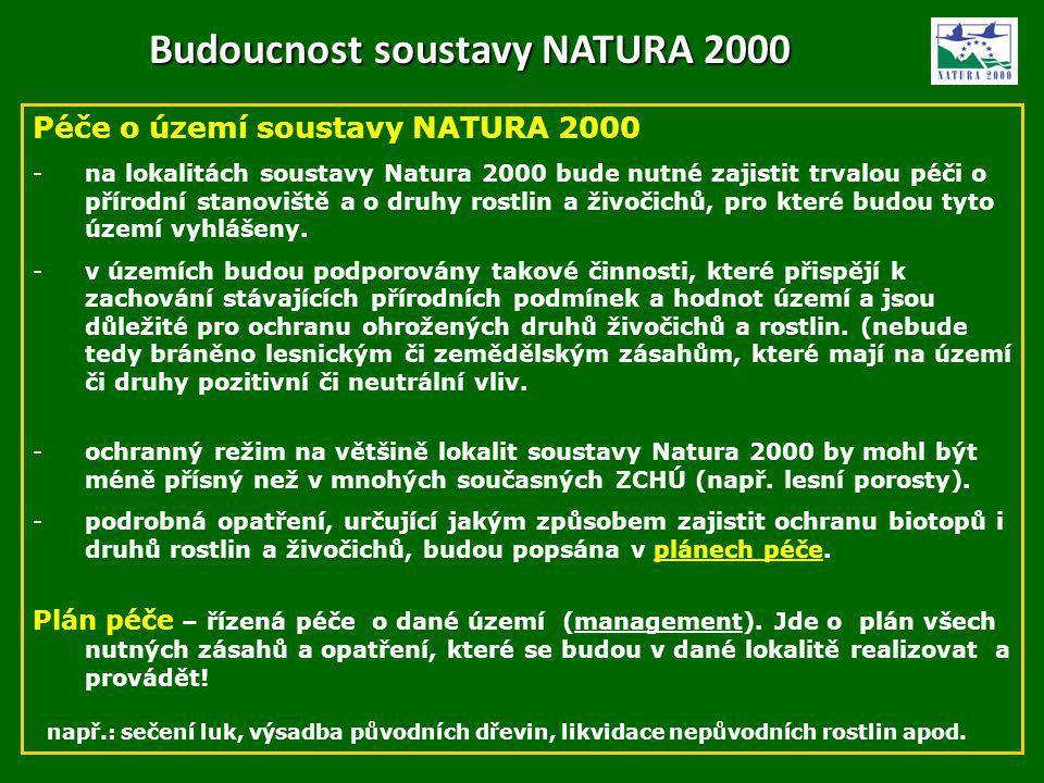 Budoucnost soustavy NATURA 2000