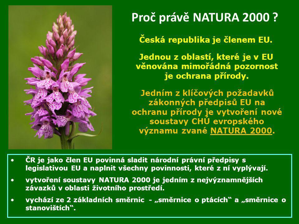 Česká republika je členem EU.