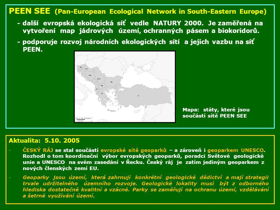 PEEN SEE (Pan-European Ecological Network in South-Eastern Europe)