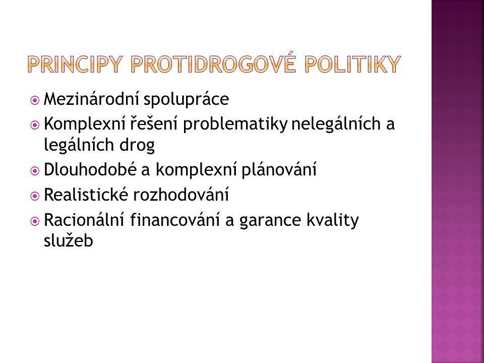 Principy protidrogové politiky