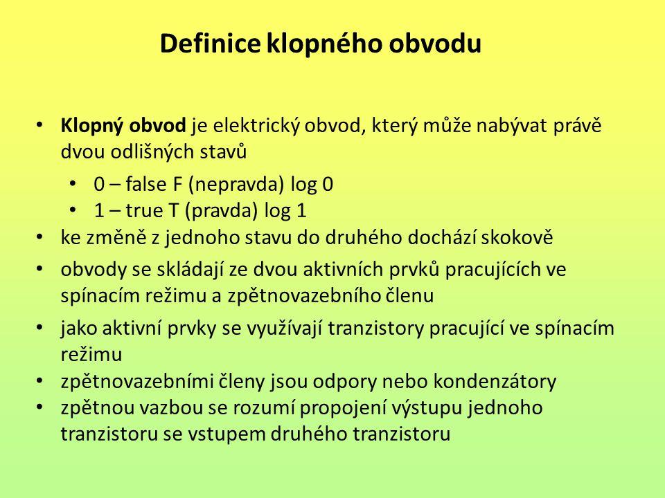 Definice klopného obvodu