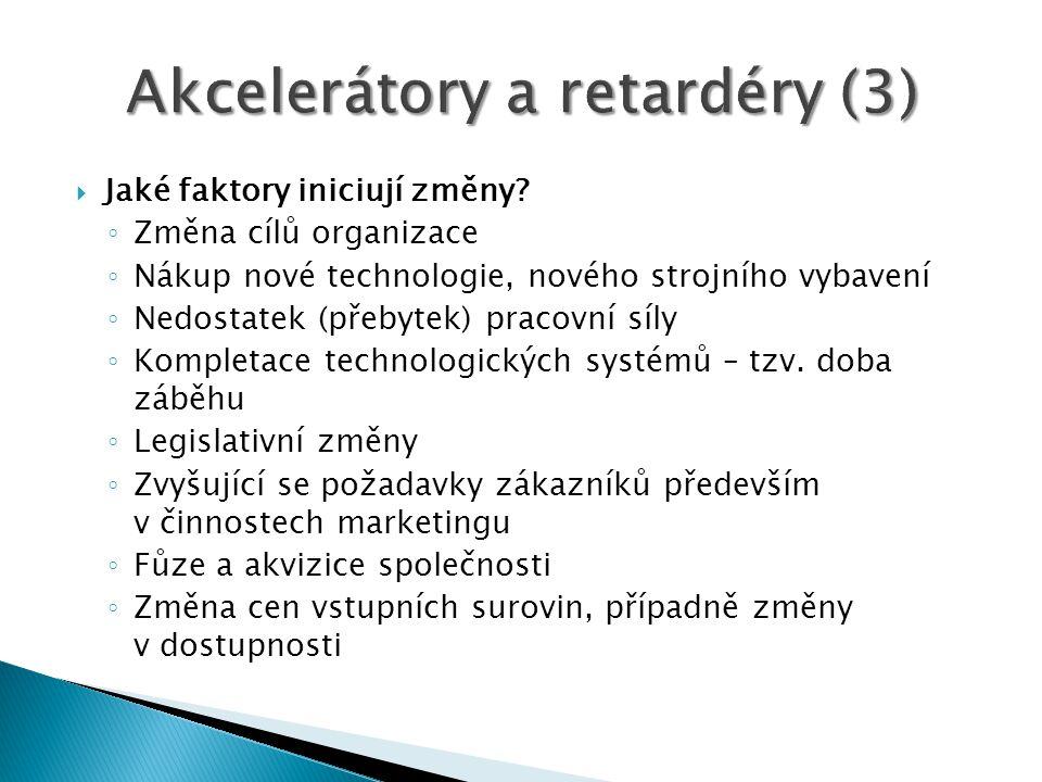 Akcelerátory a retardéry (3)
