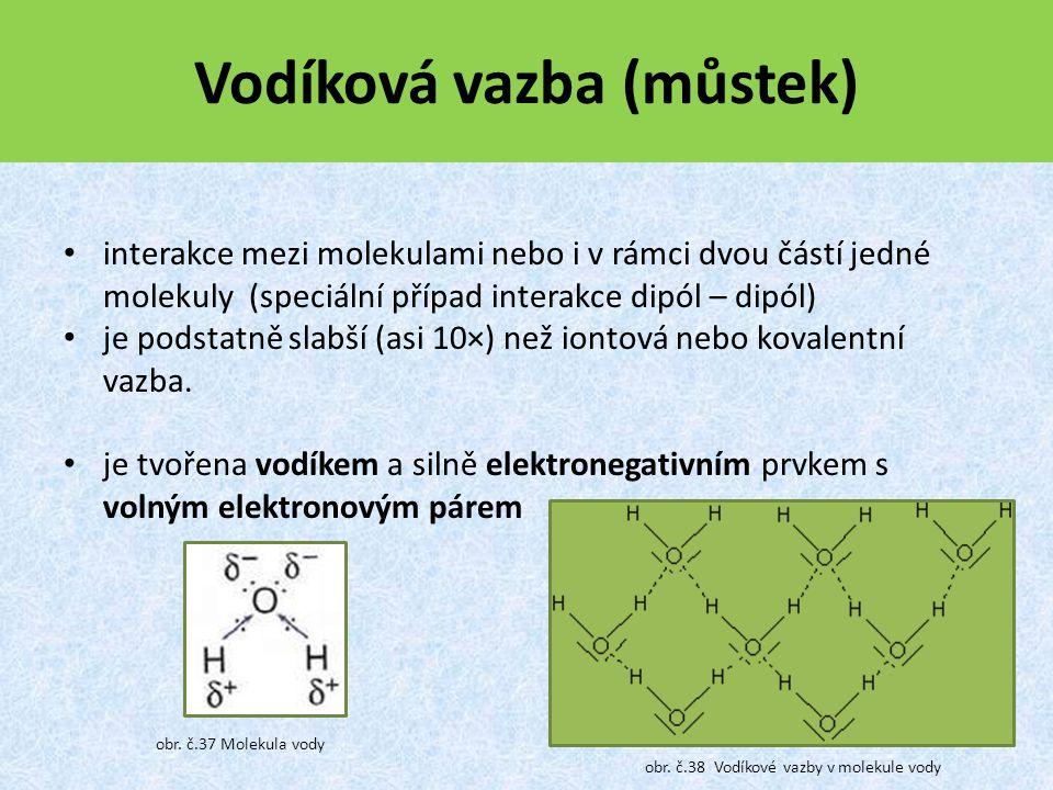 Vodíková vazba (můstek)