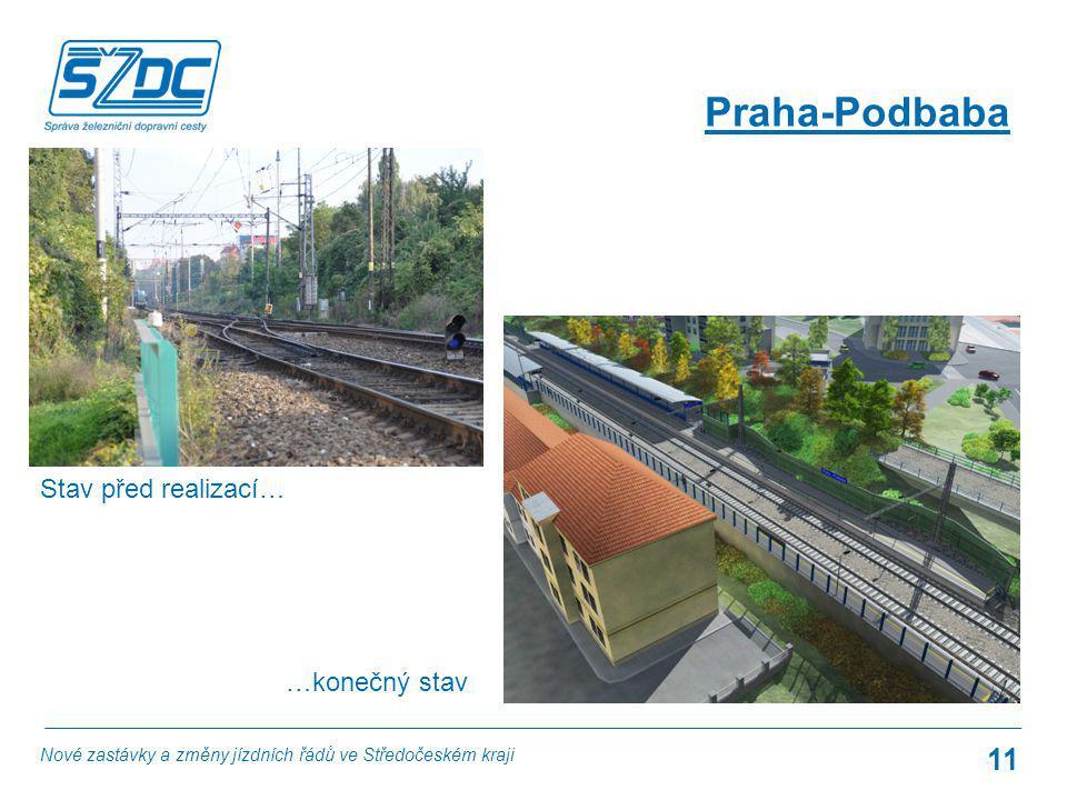 Praha-Podbaba Stav před realizací… …konečný stav
