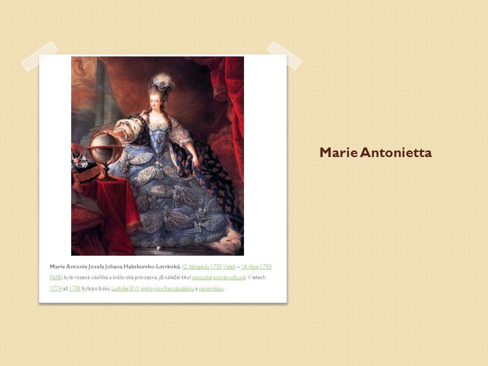 Marie Antonietta