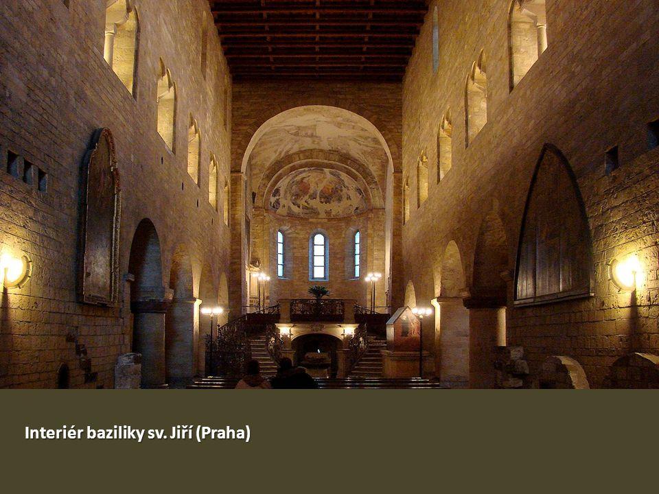 Interiér baziliky sv. Jiří (Praha)