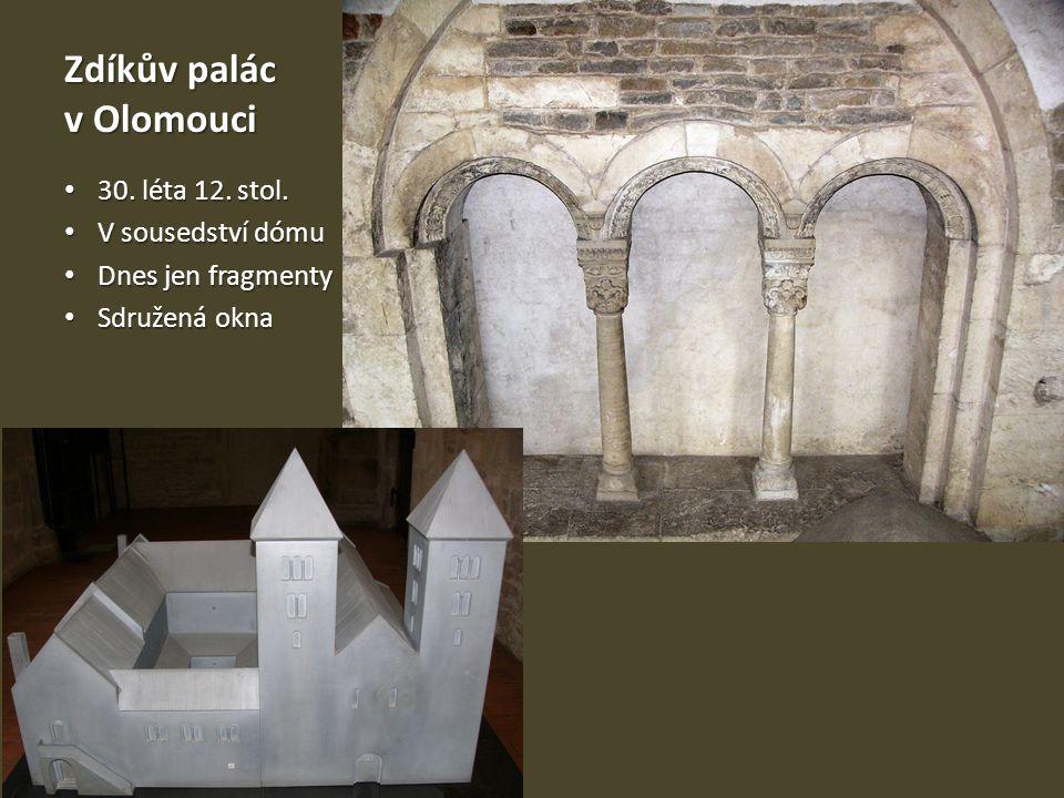 Zdíkův palác v Olomouci