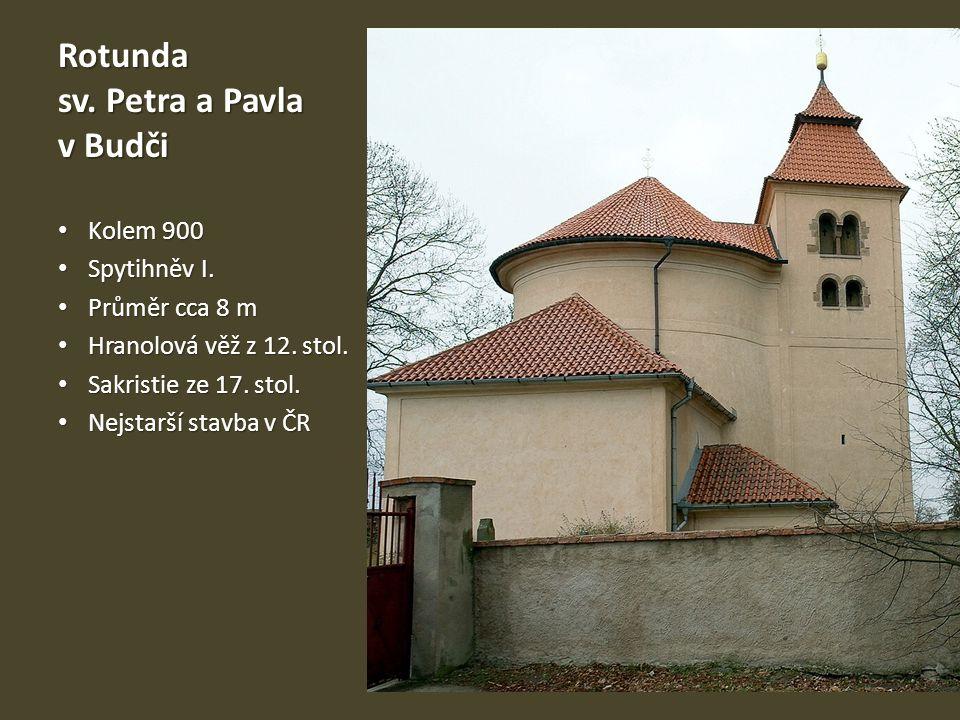 Rotunda sv. Petra a Pavla v Budči