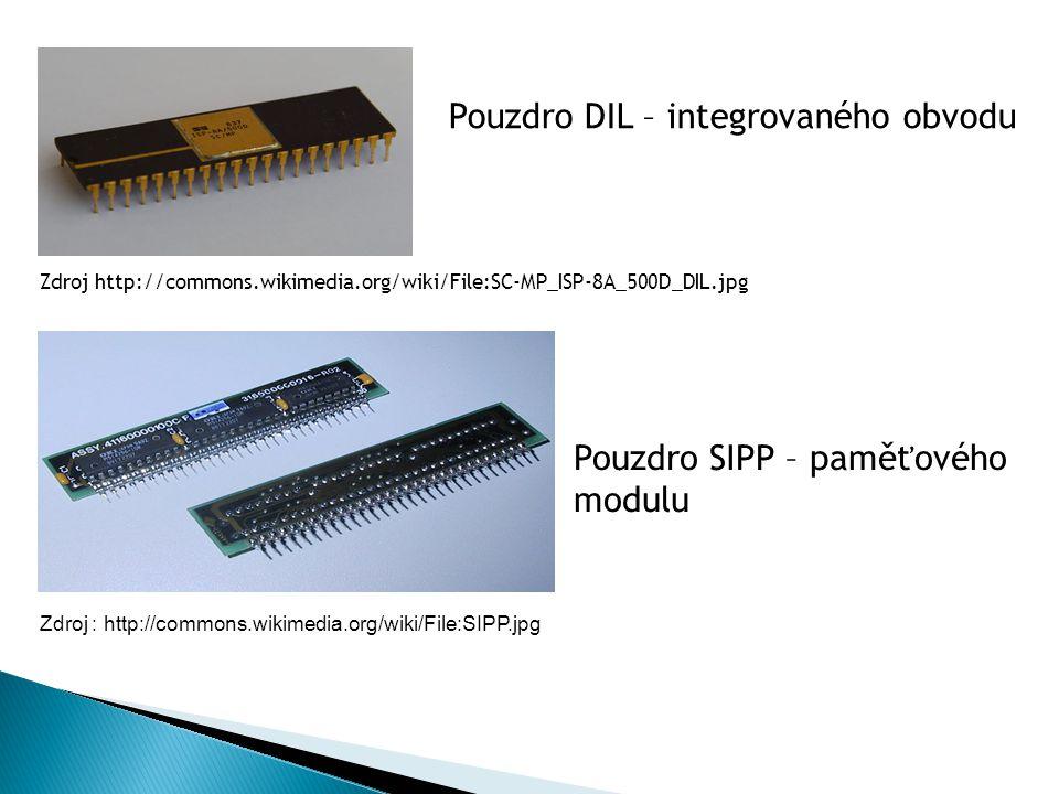 Pouzdro DIL – integrovaného obvodu