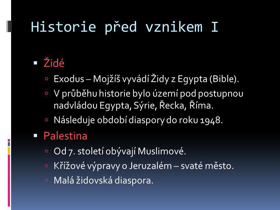 Historie před vznikem I