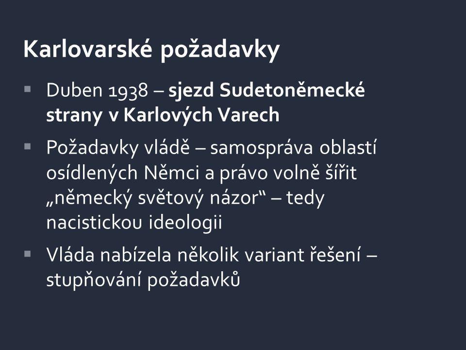 Karlovarské požadavky