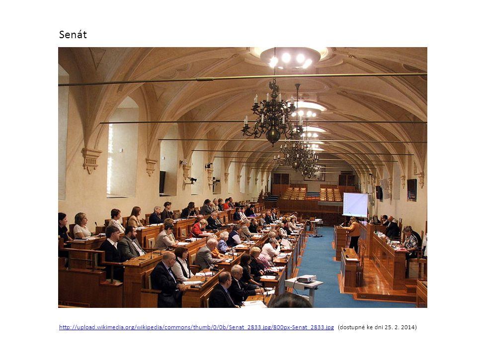 Senát http://upload.wikimedia.org/wikipedia/commons/thumb/0/0b/Senat_2833.jpg/800px-Senat_2833.jpg (dostupné ke dni 25.