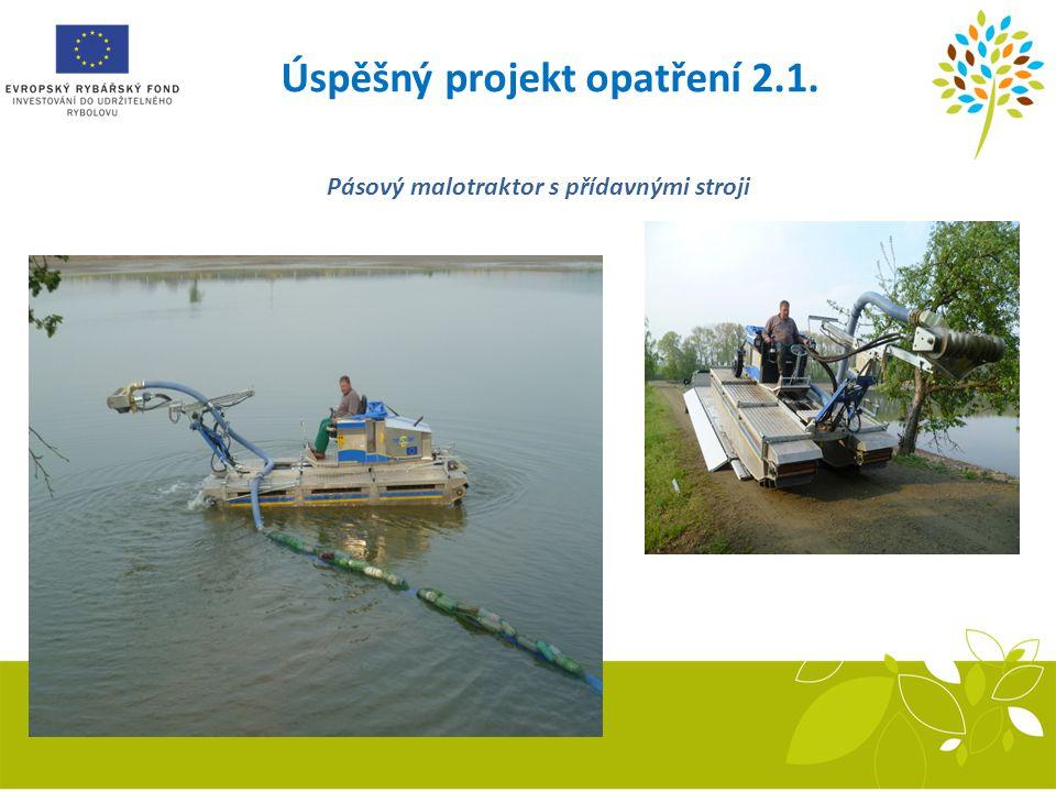Úspěšný projekt opatření 2.1. Pásový malotraktor s přídavnými stroji