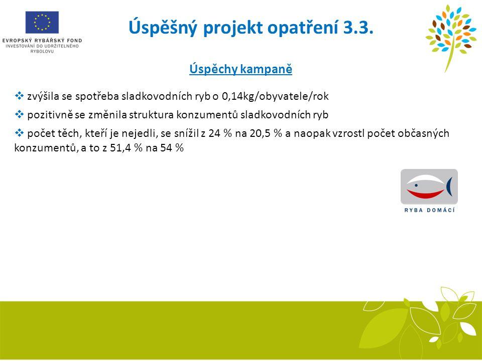 Úspěšný projekt opatření 3.3.
