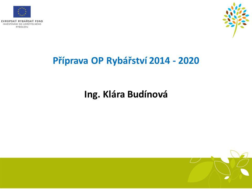 Příprava OP Rybářství 2014 - 2020