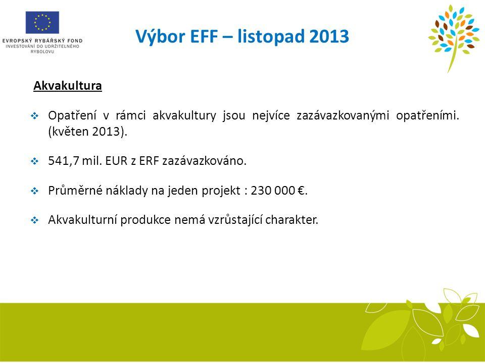 Výbor EFF – listopad 2013 Akvakultura