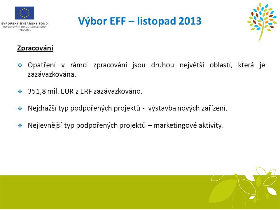 Výbor EFF – listopad 2013 Zpracování
