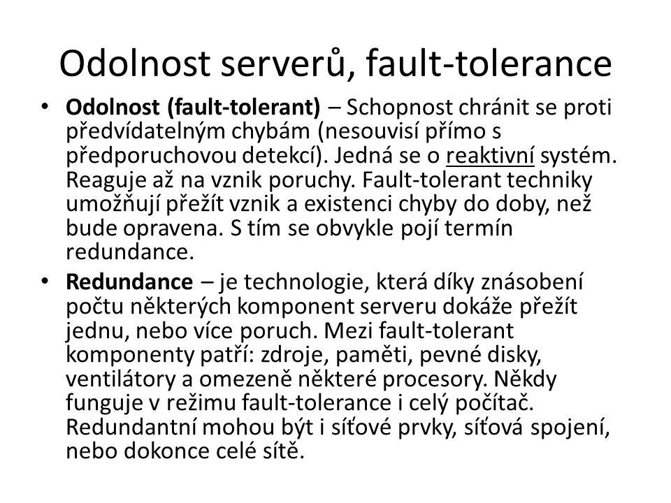 Odolnost serverů, fault-tolerance