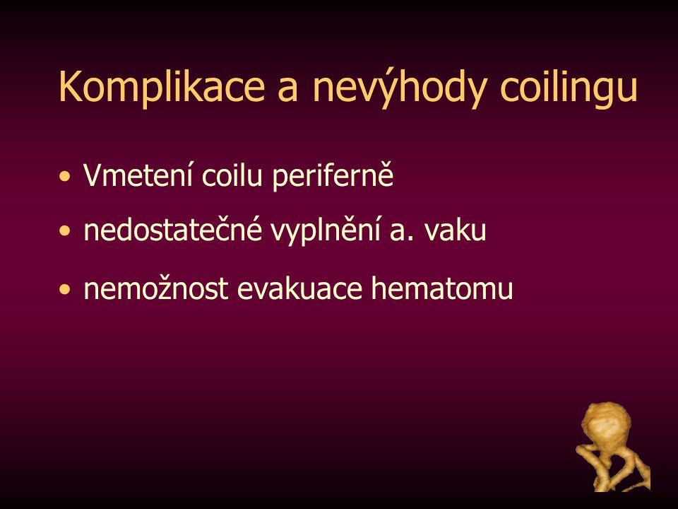 Komplikace a nevýhody coilingu