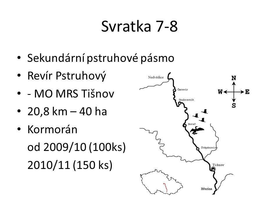 Svratka 7-8 Sekundární pstruhové pásmo Revír Pstruhový - MO MRS Tišnov