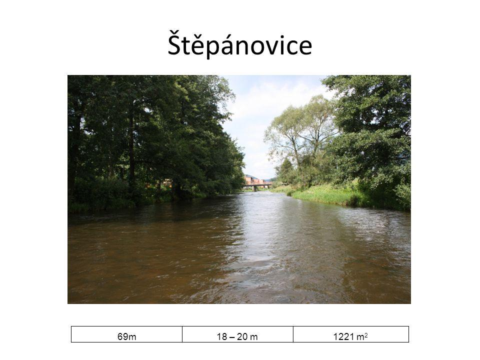 Štěpánovice 69m 18 – 20 m 1221 m2