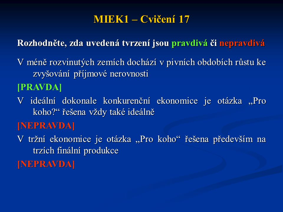 MIEK1 – Cvičení 17