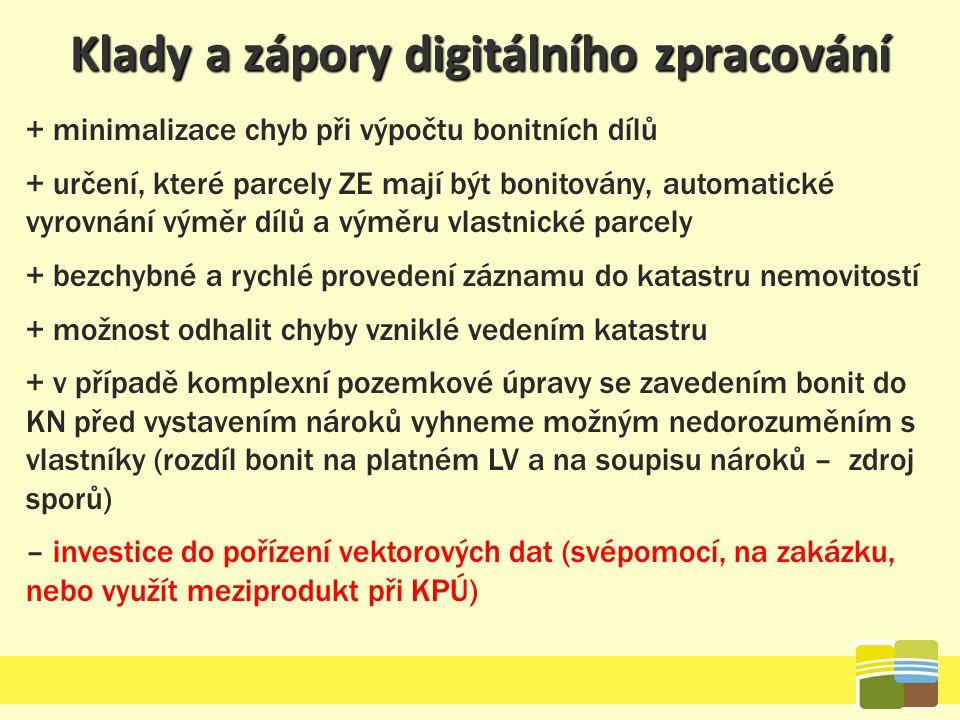 Klady a zápory digitálního zpracování
