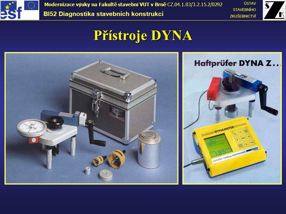 Přístroje DYNA BI52 Diagnostika stavebních konstrukcí