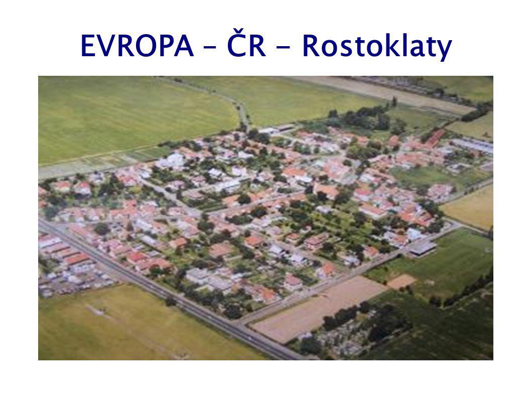 EVROPA – ČR - Rostoklaty