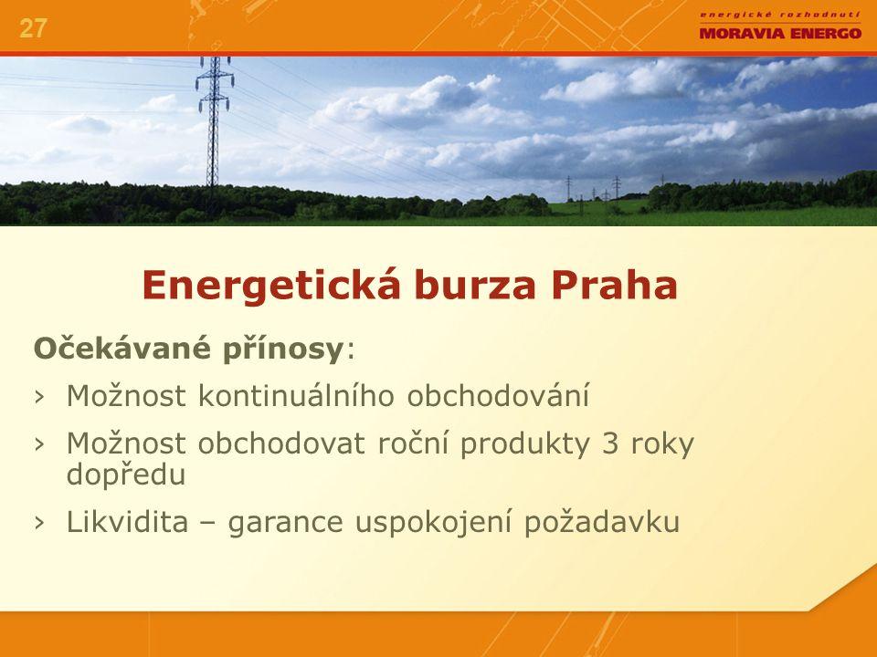Energetická burza Praha