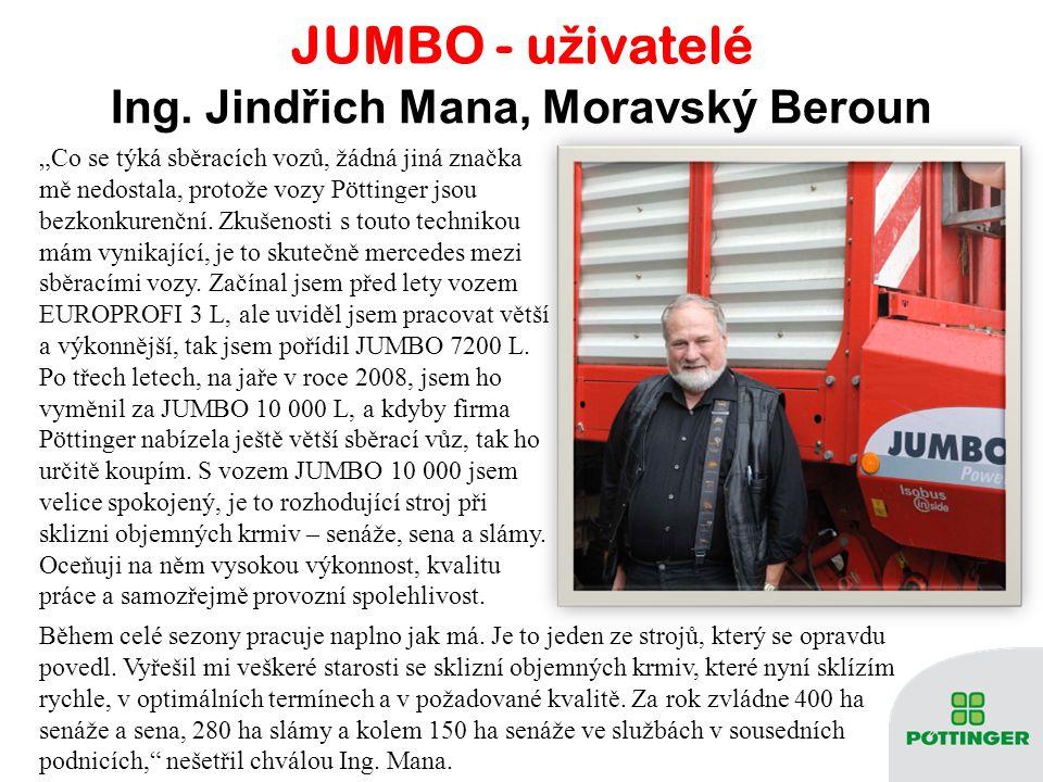 Ing. Jindřich Mana, Moravský Beroun