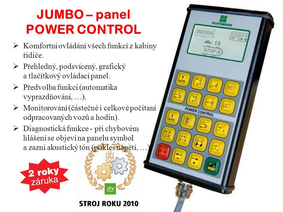 JUMBO – panel POWER CONTROL