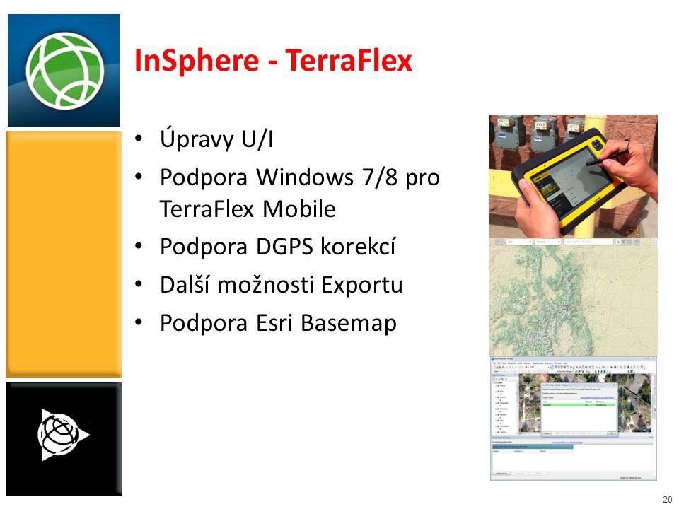 InSphere - TerraFlex Úpravy U/I